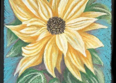 Center Sunflower