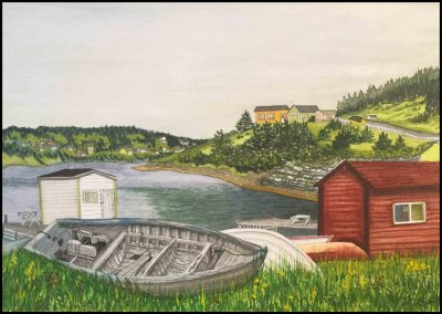 Champney's West:  Grey Boat