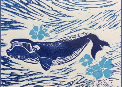 Forget-Me-Not:  Right Whale